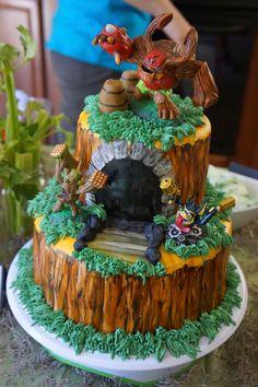 skylanders cake, reno skylanders cake, reno custom cakes, reno bakery