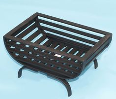 Small fire grate with oval bottom
