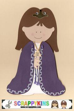 Nebraska Grand Bethel Honored Queen Scrapbook Doll - $7.00 (can be customized)