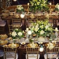 Flowers & Decor, Real Weddings, Wedding Style, ivory, green, brown, gold, Tables & Seating, Fall Weddings, Rustic Real Weddings, Southern Re...