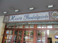 Meson Guadalquivir Cuisines: Mediterranean, Spanish, Bar, Fusion Good for: Romance Dining options: Breakfast/Brunch, Late Night