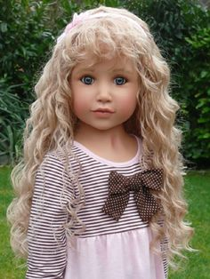 This is an absolutely beautiful doll.