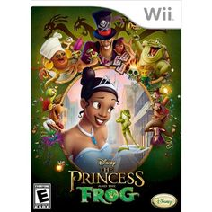 Disney Princess: Princess and the Frog (Wii) we already love the Tangled Wii game, so I think this would be a great addition to our game collection!  #DisneyPrincessWMT