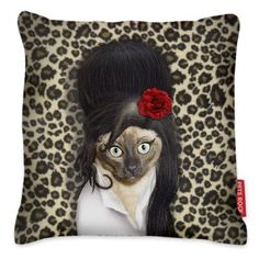 Amy Winehouse cushion