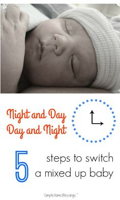 Baby Sleep tips, helping baby switch from night to day