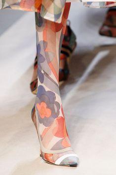 Fendi, Fashion Week, Fashion Show, Runway Shoes, Sock Shop, Fashion Socks, Spring Summer 2018, Luxury Shoes, Vogue Paris