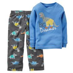 2-Piece Cotton & Fleece PJs | Carters.com