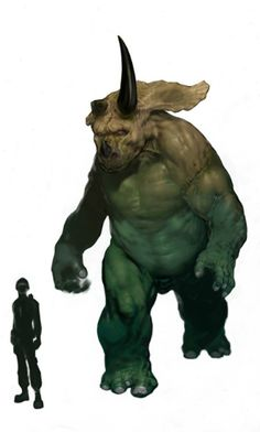 "Scrapped ""Jurassic Park IV"" Human/Dinosaur Hybrid Concept Art"