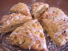 Cranberry Orange Scones (Barefoot Contessa) Ina Garten from Food.com: Moist scones that include a sweet orange glaze to drizzle over the top. Eat some now, and freeze some for later. This is a Barefoot Contessa recipe.