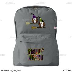witch owl backpack