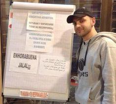 La emocionante historia de un refugiado sirio en España
