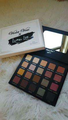 Violet Vossx Laura Lee GORGEOUS palette #lauralee #larlarlee #violetvoss…