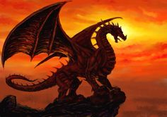 Red dragon light