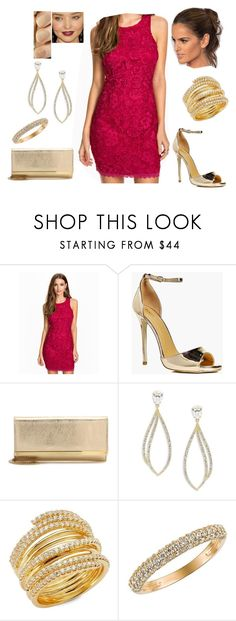 """Bez tytułu #16707"" by sophies18 ❤ liked on Polyvore featuring GALA, Boohoo, Jimmy Choo, Nadri and Morris & David"