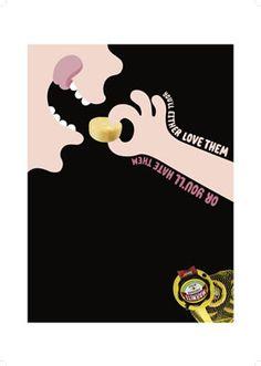 Print- Marmite Snacks, Al Murphy illustrator Advertising, Ads, Marmite, Single Image, Art Director, Behance, Branding, Graphic Design, Journal