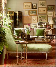 this corner view is on the cover of Charlotte Moss' book Charlotte Moss Decorates.  ...I pin it every time I see it.
