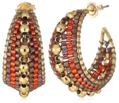 Miguel Ases Burnt Orange and Gold Marquise Small Hoop Earrings Miguel Ases,http://www.amazon.com/dp/B008BQD8V8/ref=cm_sw_r_pi_dp_kXghtb0E3CFAFVER