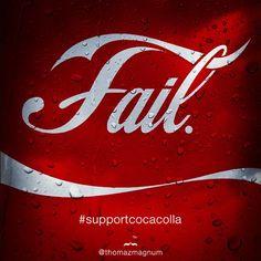 Coca Cola #FAIL
