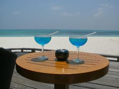 Kuredu Island Resort & Spa: Sea Blue Cocktail