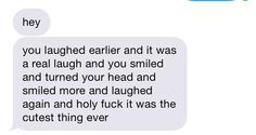 just send me a paragraph like this when I'm sleeping. I promise you I will smile ~ c.y. <3