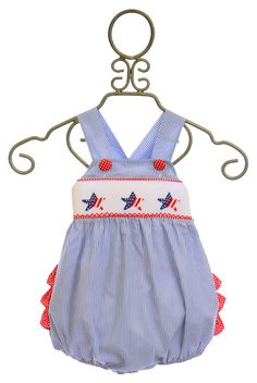 Delaney Baby Girls Red, White, and Blue Sunsuit Baby Girl Boutique, Girl Outfits, Cute Outfits, Baby Bloomers, Red White Blue, Little Princess, Future Baby, Baby Girls, Cute Dresses