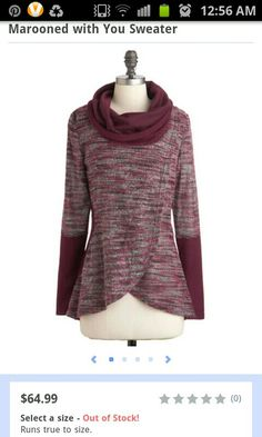 Marooned With You sweater by ModCloth