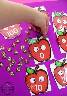 Μετρώντας σε 100 δραστηριότητες της Apple για το Νηπιαγωγείο