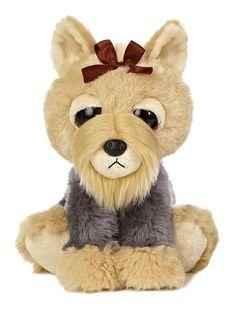"""10"""" Aurora Plush Terrier Puppy Dog """"Teensy"""" Stuffed Animal Toy Dreamy Eyes 21272 #Aurora #DreamyEyes"""
