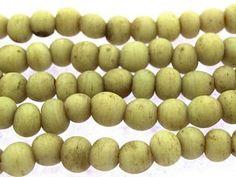 Bone Roundish Glass Beads 3-5mm (JV966)