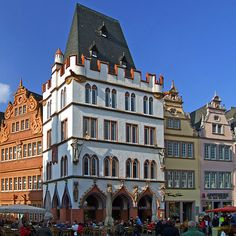 cool Trier: Main Market, Steipe and Red House