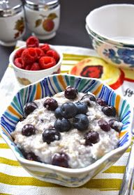 Coconut Blueberry Paleo Oatmeal (AIP, Gluten Free, GAPS, SCD, Whole 30)