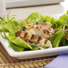 Asian Lettuce Wraps with Mustard Vinaigrette Allrecipes.com