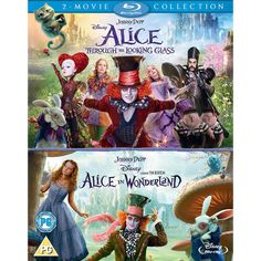 Alice In Wonderland & Alice Through The Looking Glass [Blu-Ray Box Set]