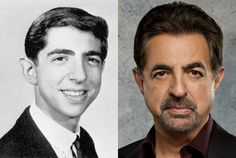 Joe Mantegna as David Rossi - God, age became him. Celebrities Then And Now, Young Celebrities, Young Old, We Are Young, Celebrity Kids, Celebrity Pictures, Joe Mantegna, Criminal Minds Cast, Stars Then And Now