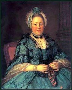 """Portrait of Countess Tolstaya, née Lopukhina"" by Ivan Argunov"