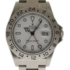25fe3b7f6dae5f Rolex Explorer II 16570 40mm Steel White -SwissTimeBuyers Rolex Watches,  Watches For Men,