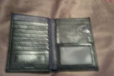 """Leather travel wallet: Item details Condition: Brand New:  Leather travel wallet View """"Leather travel wallet"""" on… #Travelgoods #Leather"""
