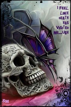 Fibromyalgia. Feels like Death has visited me.