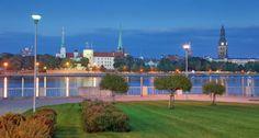 Riika, Latvia Golf Courses, Mansions, House Styles, Home Decor, Decoration Home, Room Decor, Villas, Interior Design, Home Interiors