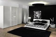 dormitorios en negro - Buscar con Google