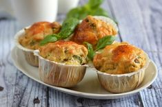 Italian Style, Mozzarella, Muffins, Food And Drink, Snacks, Breakfast, Oreos, Morning Coffee, Muffin
