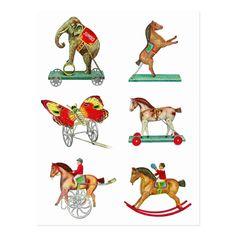 Vintage Circus, Vintage Toys, Vintage Postcards, Vintage Images, Toy Catalogs, Tin Toys, Classic Toys, Vintage Advertisements, Vintage Children