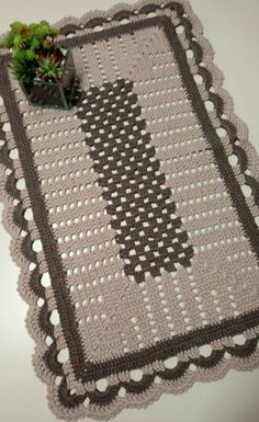 Simples e lindo 💚😍  crochenistasdobrasil  crochet  crochê  croche  instacrocheting  lovecroche  lovecrochet  handmade  decoracao…