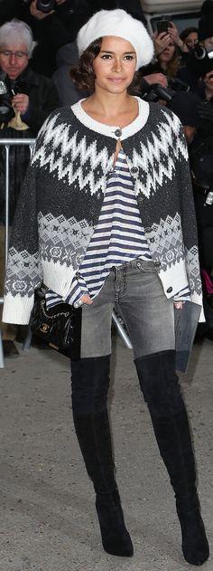 Did Miroslava Duma Just Make Fair Isle Sweaters Cool Again?