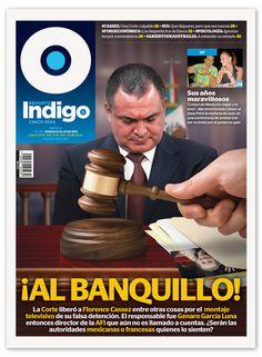 Reporte Indigo #194, Cover: In The Dock! Artwork by Hugo Herrera, Cover Design by Memo Camacho