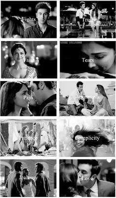 All these emotions in Yey Jawani Hai Deewani