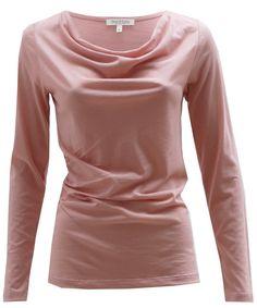 Cascade Shirt rose quarz Kollektion Damen Langarm-Shirts