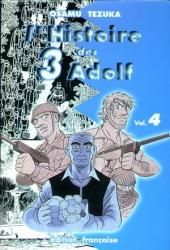 Osamu TEZUKA - L' histoire des 3 Adolf : tome 4 (Tonkam). Période historique : Seconde guerre mondiale