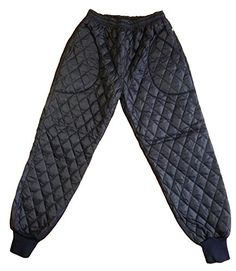 Altair Men Women Quilted Pants Utility Work Outdoor Thermal Pants Uniform Navy blue L >>> Check this awesome product by going to the link at the image.