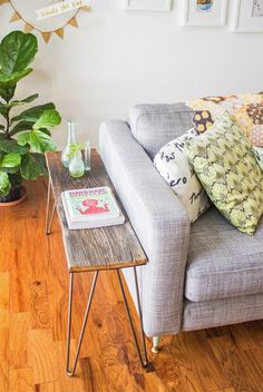 Seeking out a tricky strategy to brighten up your home space? Simply take full advantage of your furnishing. Whoa! What's that? It is no other than a small side table.  #small   #side #table #ideas #diy #ikea